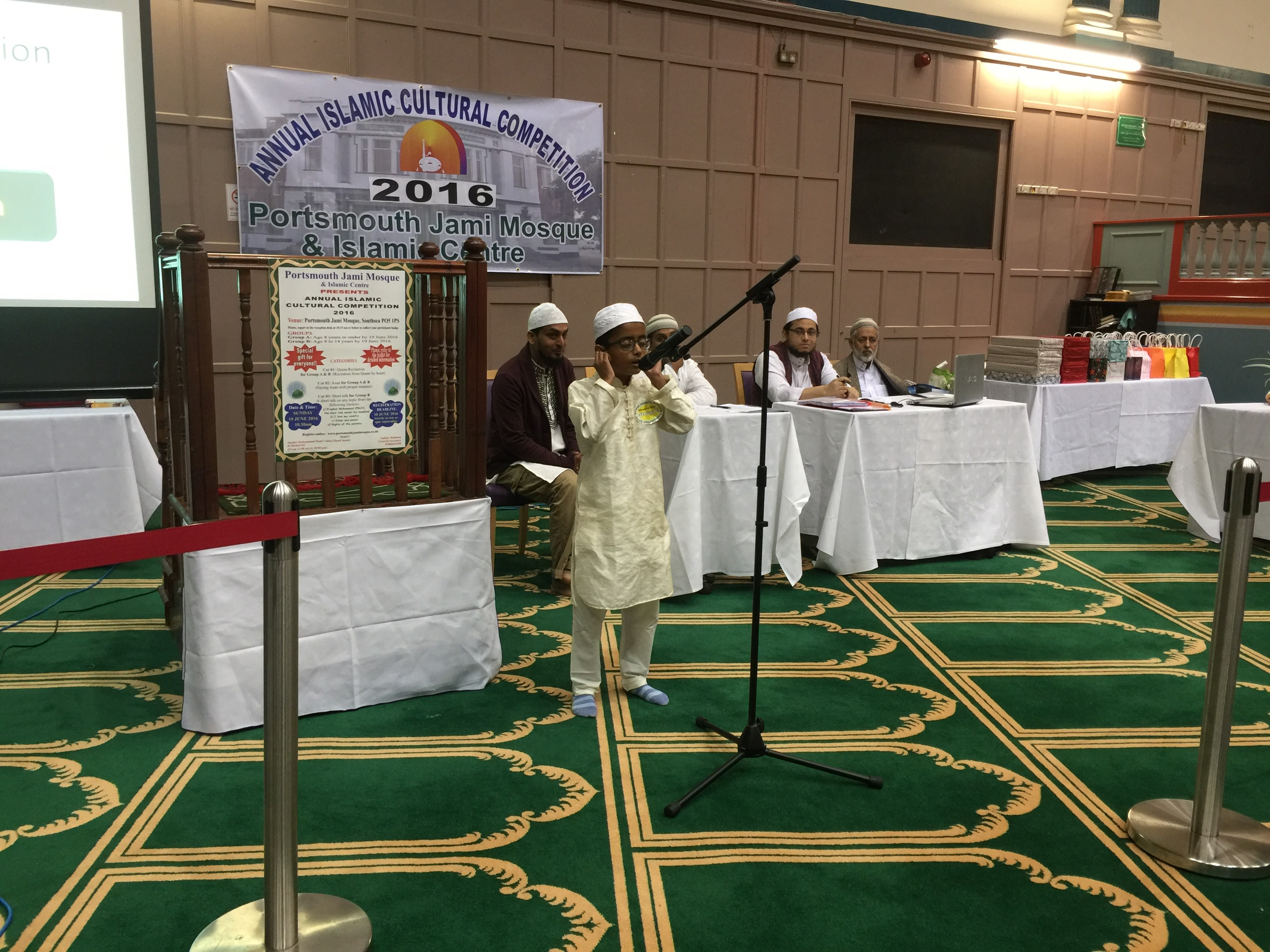 little muazzin performing azan.JPG