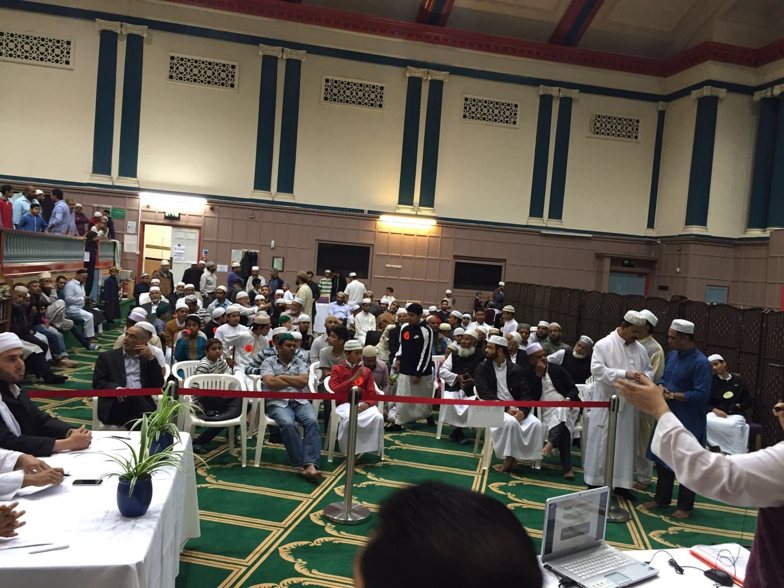 resuming the event after Zuhr prayer.JPG